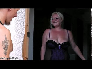 big tits   blonde   grandma