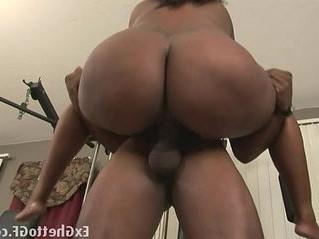 banged  black  lady
