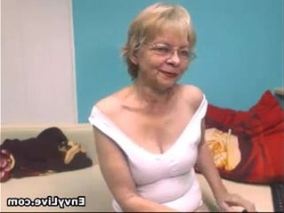 grandma   naughty   striptease