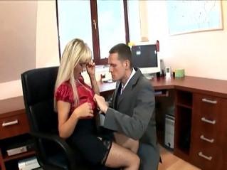 fuck  office  woman