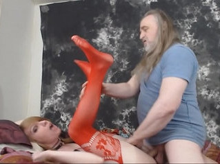 creampie   old and young   pounding