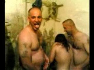 arab  cum on tits  fuck
