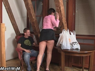 forced  horny  mother