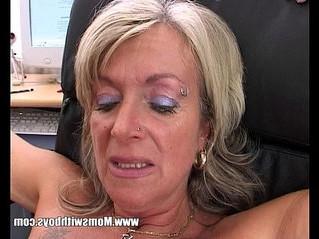 anal  blonde  boss