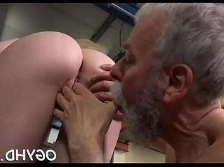 blowjob  old and young  penis