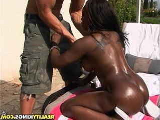 big tits  ebony  pussy