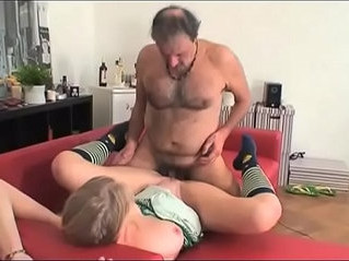 banged  old and young  shy