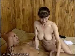 blowjob  gilf  grandma