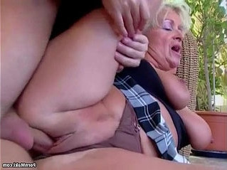cock   mom   older woman
