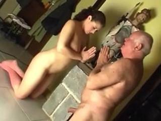 busty  grandpa  old man
