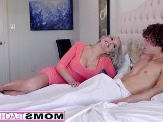 blonde  naughty  stepmom
