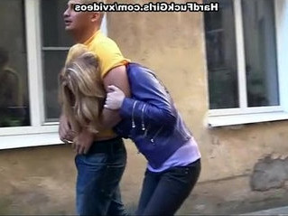 blonde   brutal   caught