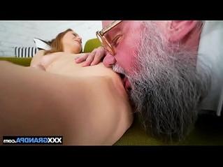 blonde  fuck  grandpa