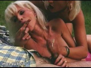 blonde  busty  gilf